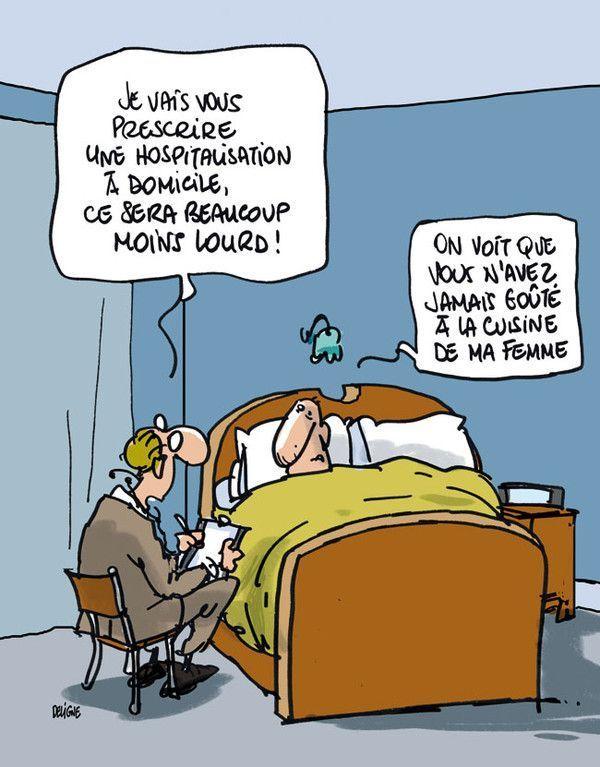 image drole hospitalisation